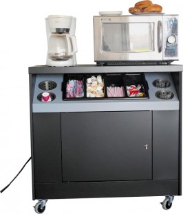 Cater food/coffee cart