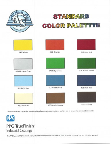 All State Color Palette