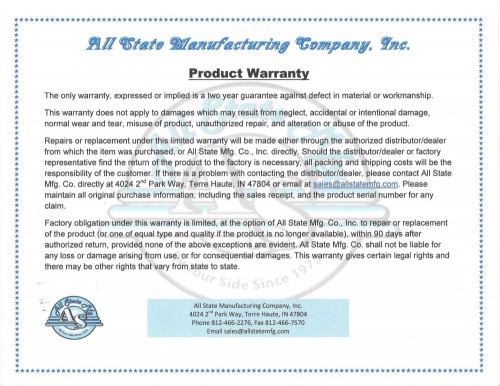 Product Warranty Web